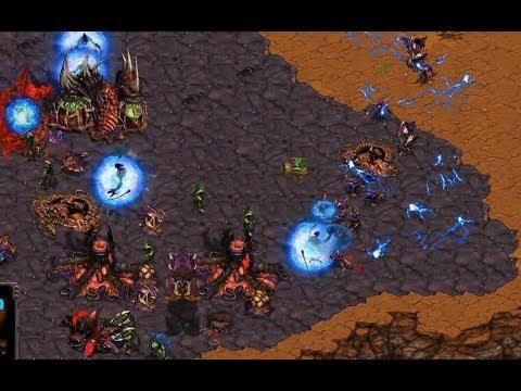 P -Jaedong (Z) v Stork (P) on Coliseum - StarCraft  - Brood War REMASTERED