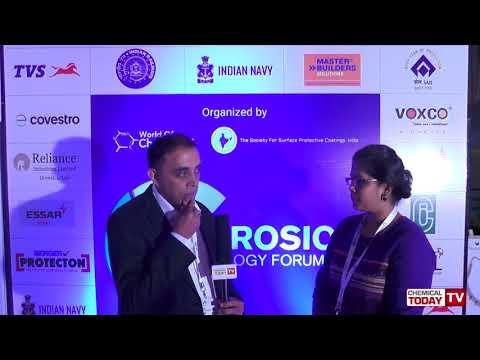 R V Sridhar, Essar Steel - Corrosion Technology Forum 2018