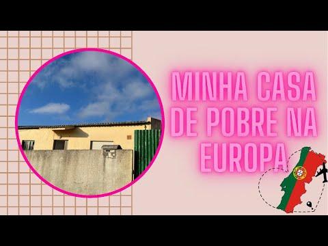 Mostrando minha casa de pobre na Europa e quanto pago.