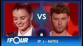 Rebecca vs James: Two Rising Stars' EPIC Battle For Stardom!! | S2E1 | The Four