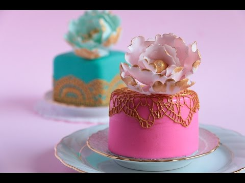 Download How To Make Mini Fondant Cakes- Rosie's Dessert Spot HD Mp4 3GP Video and MP3