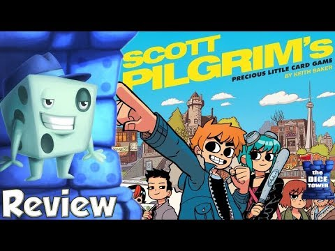 Scott Pilgrim's Precious Little Card Game Review - with Tom Vasel
