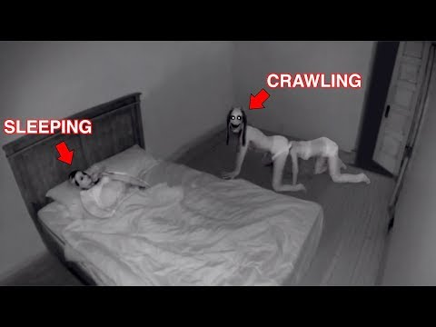 It Crawls Into her Room at Night..