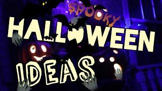 Halloween Decorating Ideas DIY Spooky Outdoor Decor