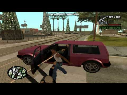 GTA San Andreas Gameplay Part 2/Cool Cheats And Cars. [HD]
