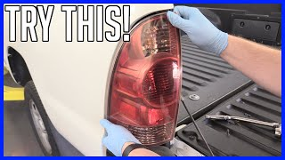How to Replace Brake and Tail Light Bulb