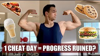 Can 1 Cheat Day Ruin Your Progress?