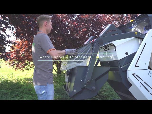 Elektromos Seprűgép Tenax SmartWind
