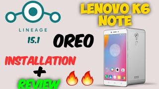 How to install/flash a custom rom in lenovo k6 power