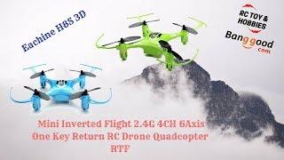 Drone Mini Keren Eachine H8S 3D Mini Inverted Flight 2.4G 4CH 6 Axis RTF