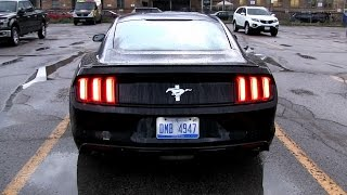 2016/2017 Ford Mustang 3.7L V6 (300 HP) Test Drive
