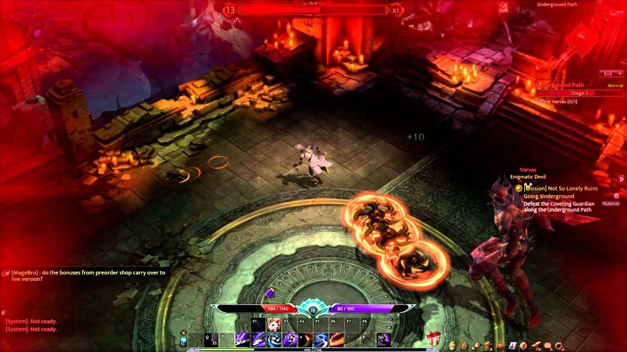 Devilian đẩy người chơi vào những hầm ngục, vùng đất tối tăm