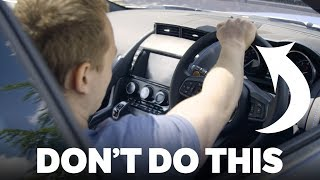 6 things you didn't know you were doing wrong when driving fast