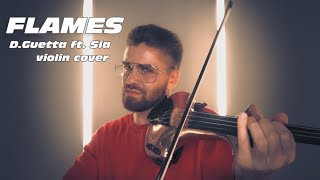 David Guetta & Sia - flames cover (by Violin Valenti)