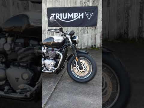 2020 Triumph Bonneville Speedmaster in Charleston, South Carolina - Video 1