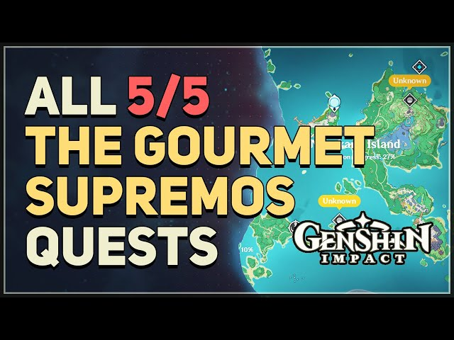 1) orobashi's legacy prologue and ward. Genshin Impact Gourmet Supremos Quest Locations And Guide To Complete Them