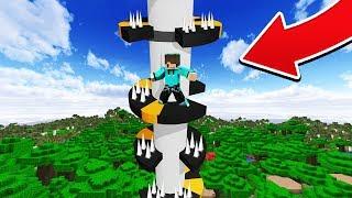 Tantangan Kocak Main HELIX JUMP PALING MEMATIKAN Di Minecraft