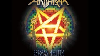 Anthrax - Breathing Lightning Lyric Video HD OFFICIAL