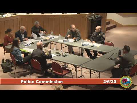 Police Commission Candidate Interviews 2.6.2020