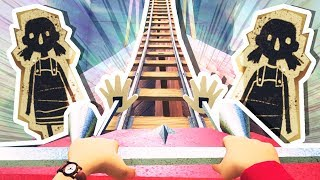 NEIGHBOR'S SECRET ROLLER COASTER!!! (Hello Neighbour Full Game #2)
