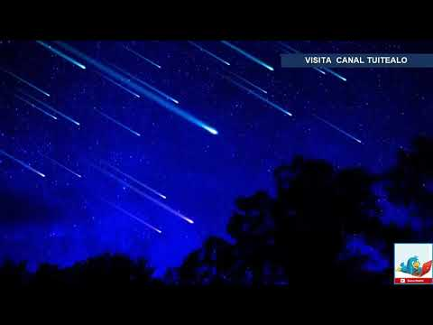 Lluvia de Estrellas este Domingo 21 de Octubre 2018 por Cometa Halley