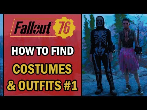Fallout 76 - Clown Outfit & Hat - Location Guide - смотреть онлайн