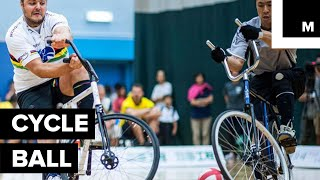 Cycle Ball is the Probably the Weirdest Sport You Never Heard of