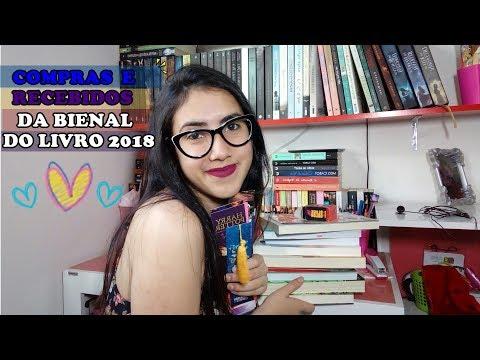 Compras e Recebidos | BIENAL DO LIVRO 2018 | Leticia Ferfer | Livro Livro Meu