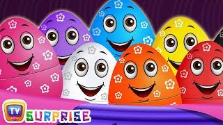 Surprise Eggs Wildlife Toys | Learn Wild Animals & Animal Sounds | ChuChu TV Surprise For Kids - Video Youtube