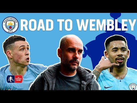 All Man City's 19 GOALS on route to the FA Cup Semi-Final! | Manchester City's Road to Wembley