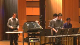 """Everything's Alright"" by Eugene Novotney [CSU Percussion Ensemble]"