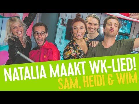 Natalia Maakt Het Wk Lied Samen Met Onze Luisteraars Sam Heidi Amp Wim