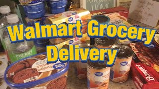 WALMART GROCERY DELIVERY | GROCERY HAUL ON A BUDGET