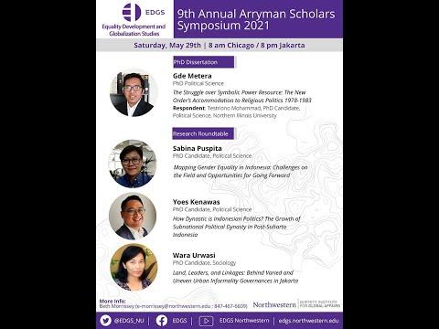 9th Annual Arryman Symposium 2021