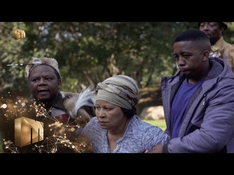 Naledi taken to the sacred river – The Throne | Mzansi Magic