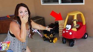 BABY RATTLESNAKE BACKYARD SCARY SURPRISE!