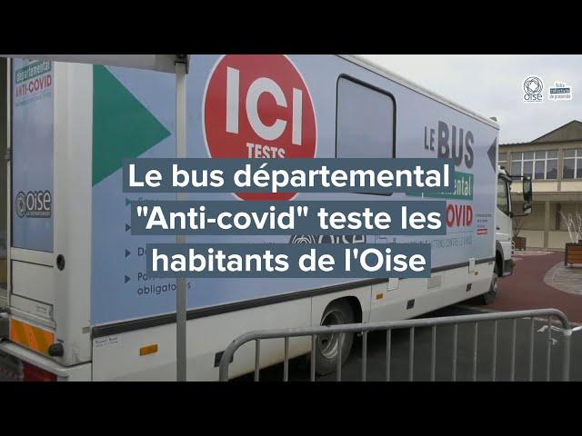 Bus départemental Anti-Covid