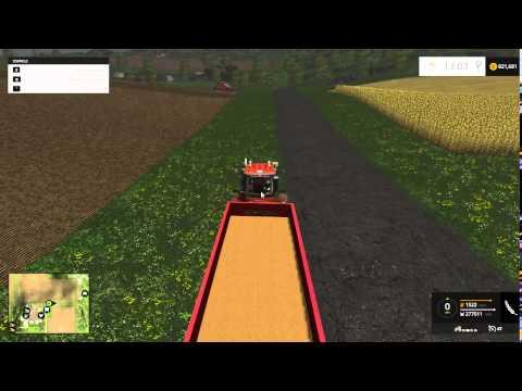 Farming Simulator 2015 Big tractor trailer chain
