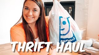 THRIFT HAUL | GOODWILL & PLATOS CLOSET (ATHLETIC CLOTHES) 2020