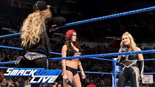 Natalya admits that she attacked Nikki Bella at Survivor Series: SmackDown LIVE, Dec. 20, 2016