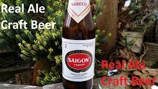 preview picture of video 'Saigon Export By Saigon Beer Company In Ho Chi Minh City Vietnam | Vietnam Beer Review'