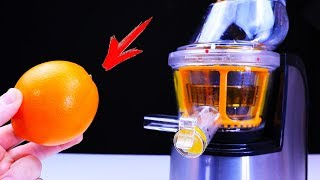 TOP EXPERIMENT HOW MUCH JUICE CAN BE SQUEEZED OUT OF 100 ORANGES