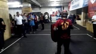 Миша Валигурский БКК 2016 бой 1