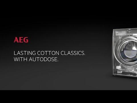 AEG Freestanding Washing Machine L7FBE942CA - White Video 1
