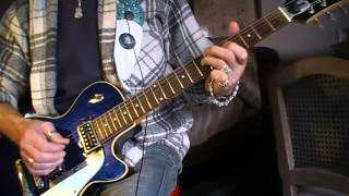 Emma Hot Chocolate guitar cover lesson  on Duesenberg