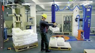 VacuPowerLift lifting plastic bags