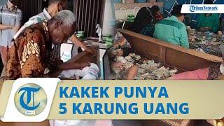 Viral Kakek di Payakumbuh Punya Uang Berkarung-karung, Butuh 2 Hari dan 12 Orang untuk Menghitung