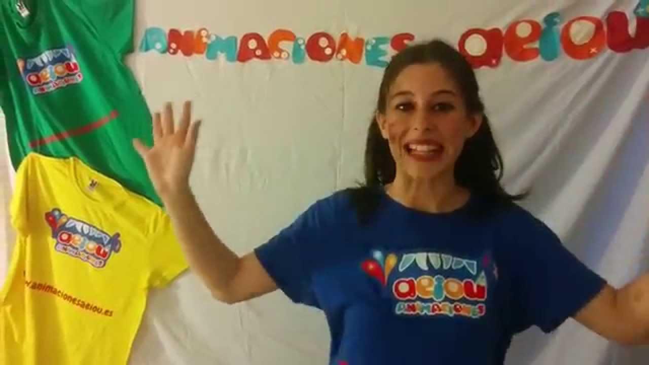 """Canción Aeiou """"las vocales"""" para bailar: Animaciones infantiles Aeiou"""