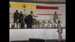 cérémonie pose première pierre deuxième université de Dakar UNIDAK2(1re partie)