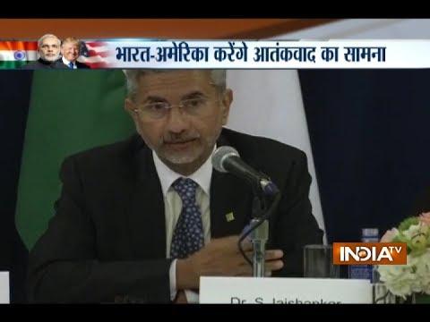Foreign Secretary Subrahmanyam Jaishankar briefing after PM Modi-President Trump meeting